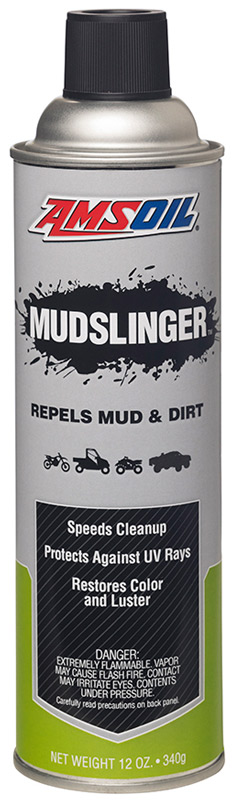AMSOIL Mudslinger Repels Mud and Dirt