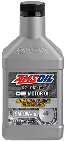 AMSOIL OE Synthetic 0W-16 Motor Oil