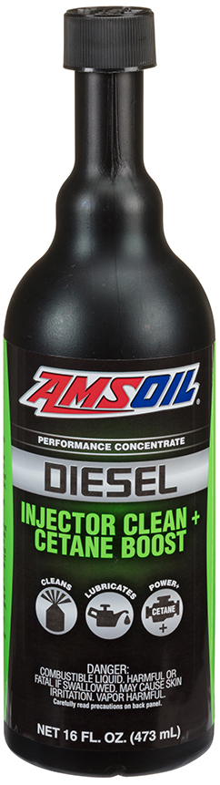 Defend Your Diesel with AMSOIL Diesel Injector Clean + Cetane Boost