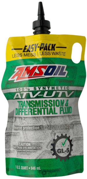 AMSOIL Synthetic ATV/UTV Transmission and Differential Fluid Now Available in Easy-Packs