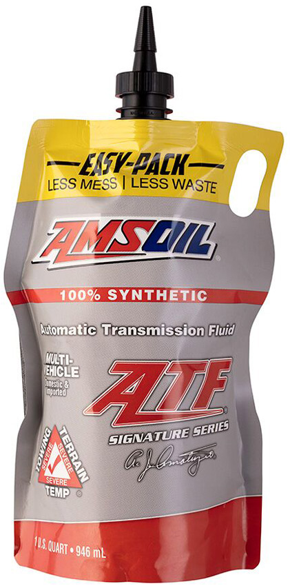 AMSOIL Signature Series Synthetic Multi-Vehicle ATF Now Available in Easy-Packs