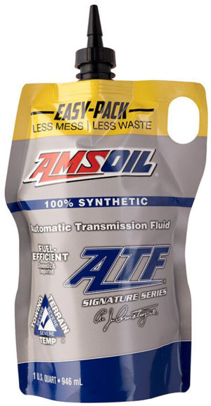 AMSOIL Signature Series Fuel-Efficient ATF Now Available in Easy-Packs