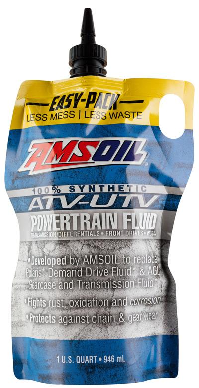 AMSOIL Synthetic ATV/UTV Powertrain Fluid
