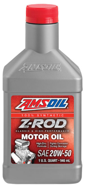 AMSOIL Z-ROD Synthetic SAE 20W-50 Motor Oil