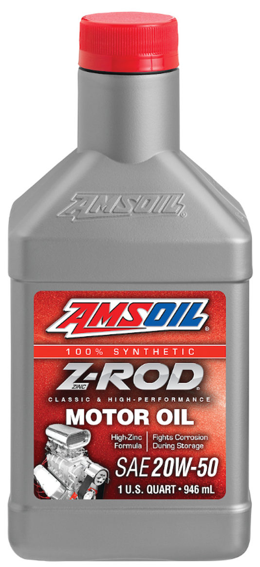 AMSOIL Z-ROD Synthetic SAE 20W-50 Motor Oil